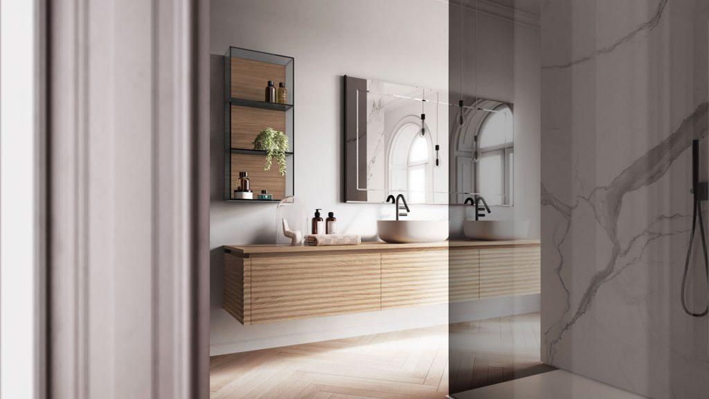 Ideagroup badezimmereinrichtung moderne badezimmermöbel und