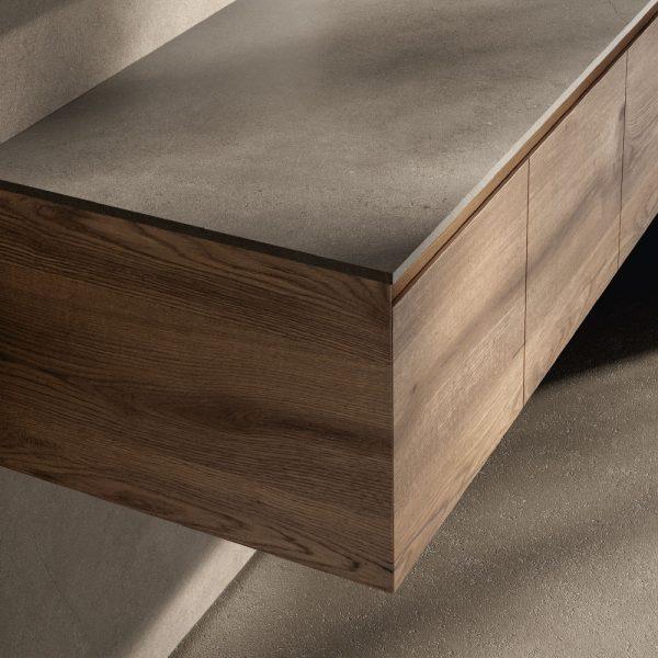 Holzausführungen mit durchgehender Maserung