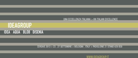 Ideagroup auf der Messe Cersaie 2013