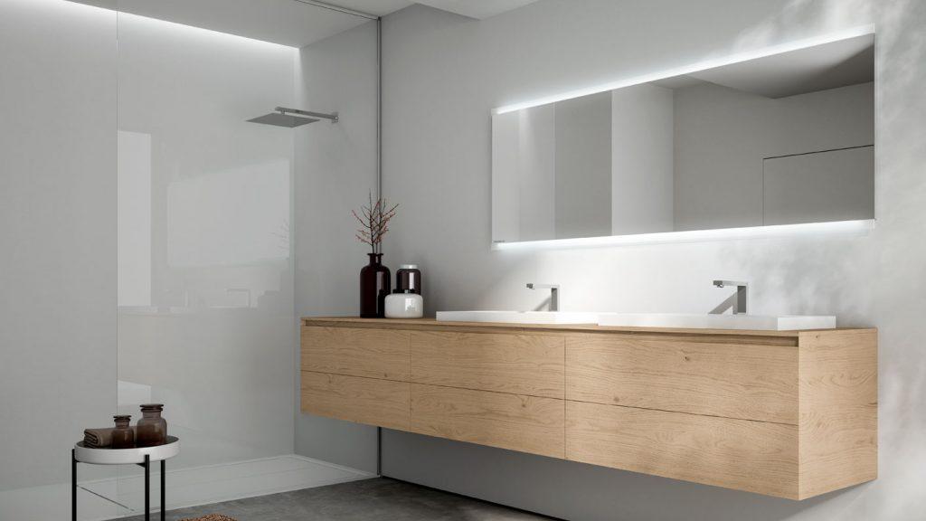 Cubik: moderne Badezimmermöbel für Design-Badeinrichtungen - Ideagroup