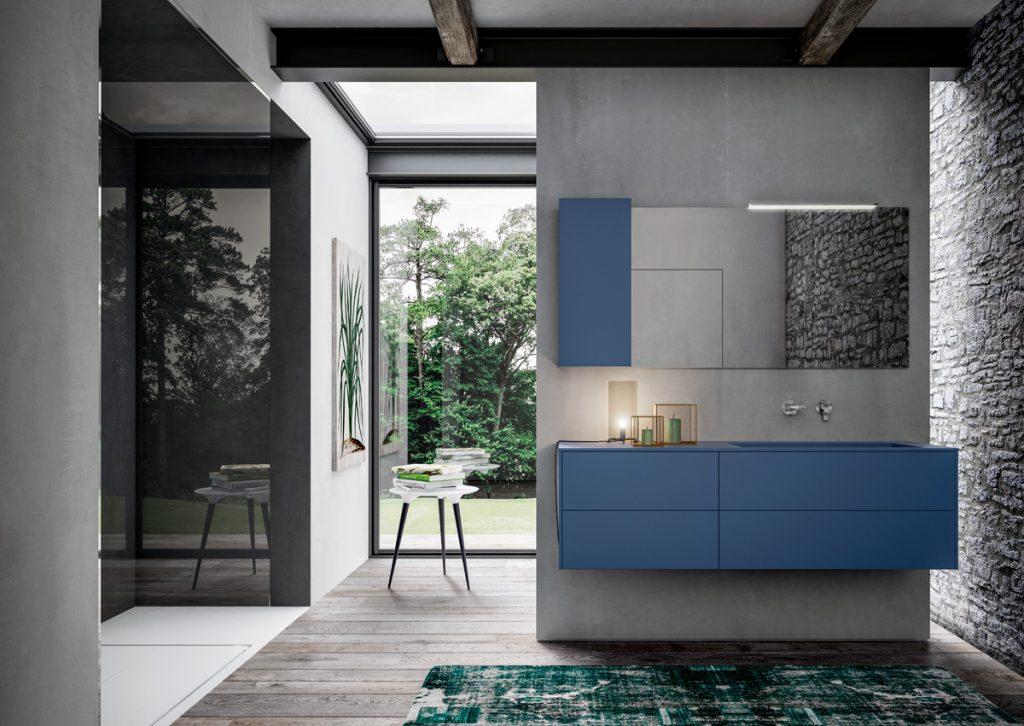 """Sense. Die erste Badezimmermöbelkollektion, die man """"aus dem Gefühl heraus"""" wählt."""