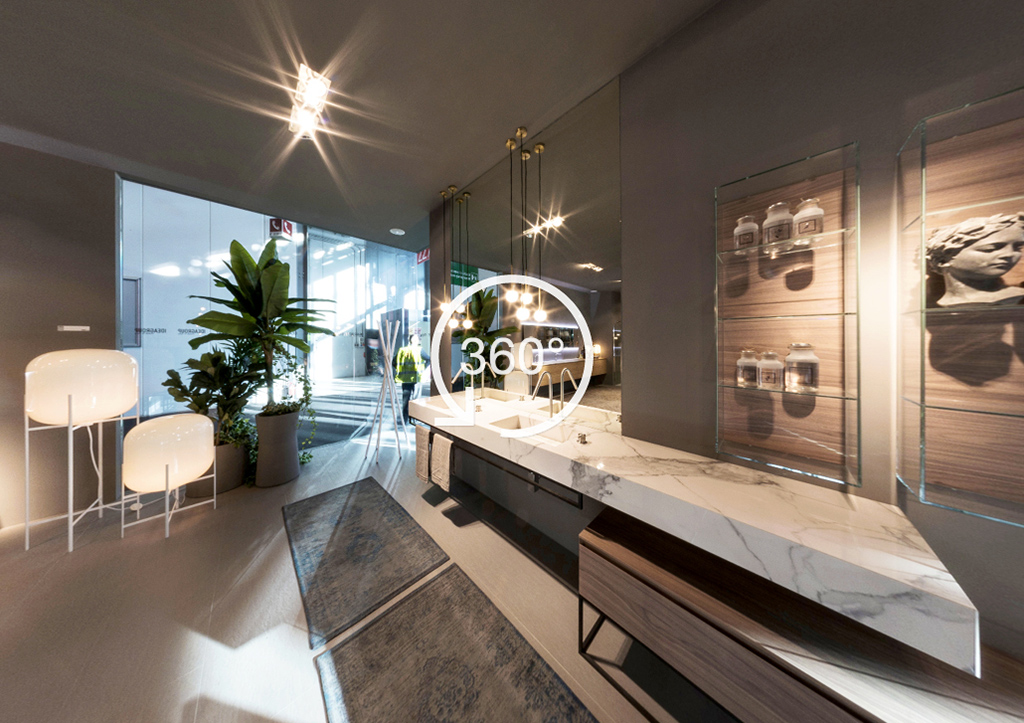 Eine Salone del Bagno à 360°