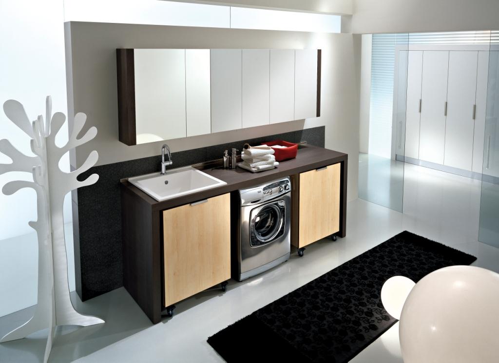 Spazio Evoluzione Waschküchen-Möbel