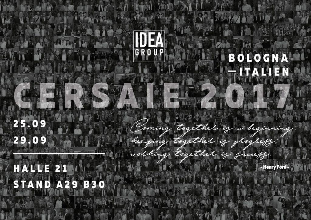 Ideagroup auf der Cersaie 2017