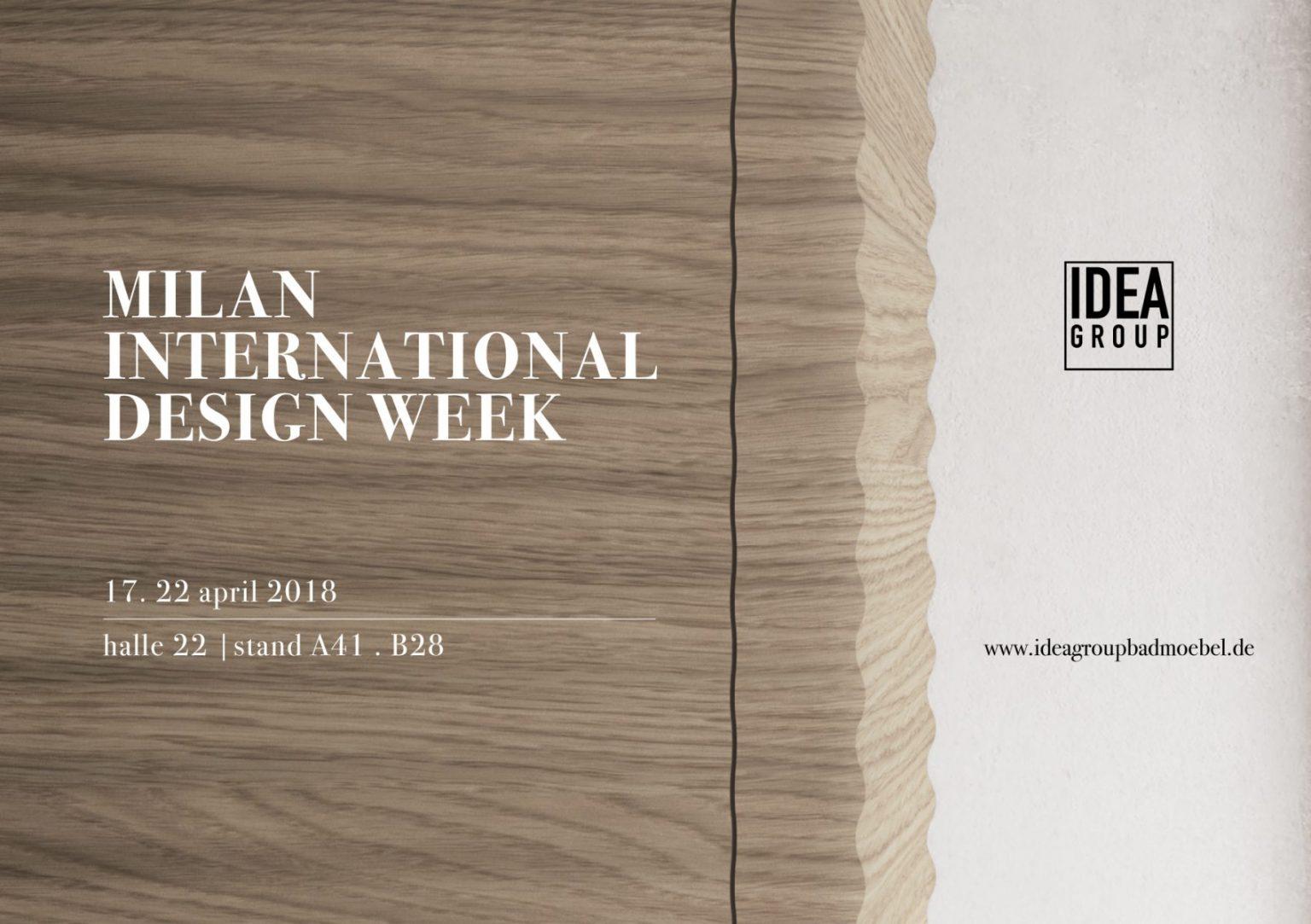Disenia auf der Internationalen Badezimmermesse 2018